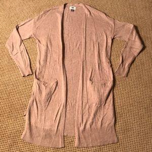 Tan/beige cardigan